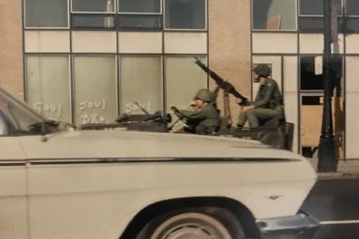 jeep and machine gun