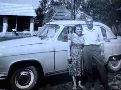 grandparents and car