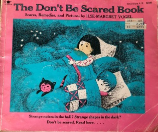 don't be scared book